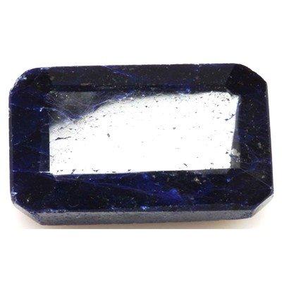African Sapphire Loose Gems 148.14ctw Emerald Cut