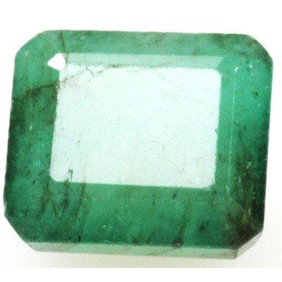 Natural 5.7ctw Emerald Emerald Cut Stone