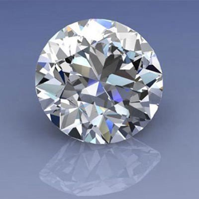 GIA Certified 1.01 ctw Round Brilliant Diamond, SI1, H
