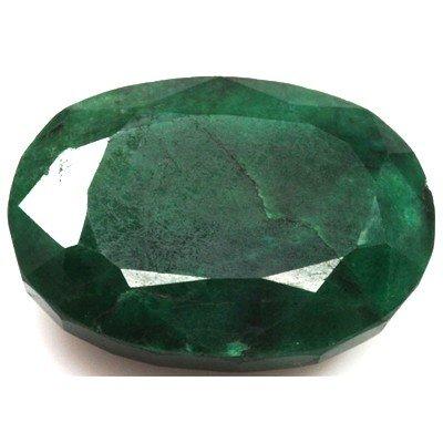 African Emerald Loose Gems 112.64ctw Oval Cut