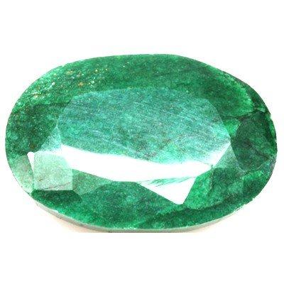 African Emerald Loose Gems 35.37ctw Oval Cut