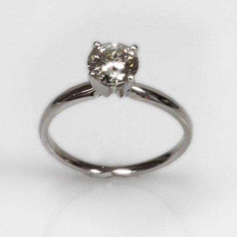 Certified 1.03 ctw Diamond Solitaire Ring I-J I-1/I-2