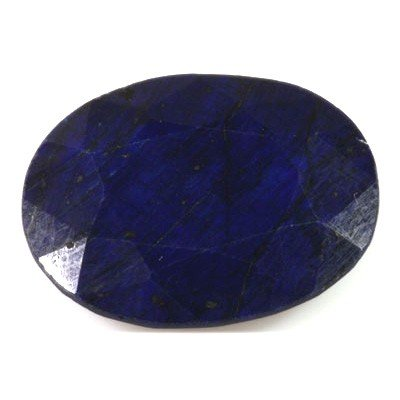 Natural African Sapphire Loose 87ctw Oval Cut