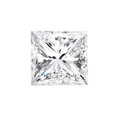 Genuine Princess Cut 0.37ctw Loose Diamond G to H, SI2