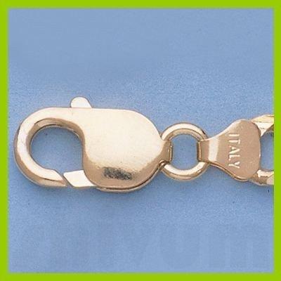 """Genuine 16"""" 14k  Gold-Yellow 7.6mm Figaro Chain 39g"""