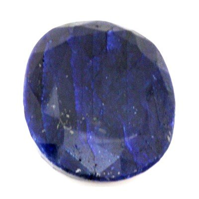 Natural 127.71 ctw African Sapphire Oval Stone