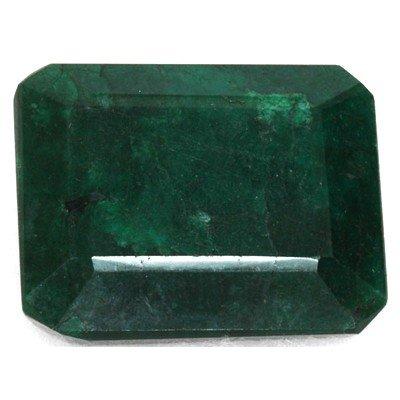 African Emerald Loose Gems 252.48ctw Emerald Cut