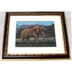 Gemstone Painting Elephant