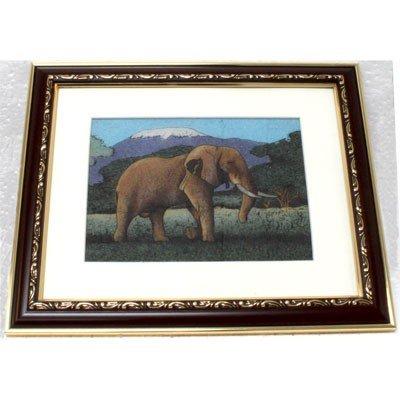 Gemstone Painting Elephant