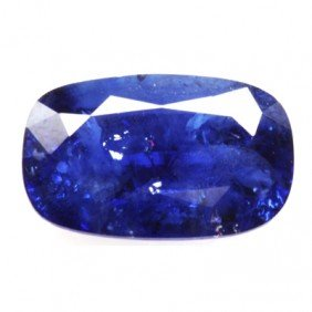 Natural 5.52ctw Ceylon Sapphire Emerald Cut Stone