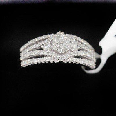 4.83g 14k White Gold Diamond Ring