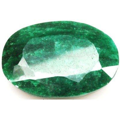 African Emerald Loose Gems 145.99ctw Oval Cut