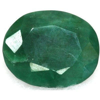 African Emerald Loose Gems 87.42ctw Oval Cut