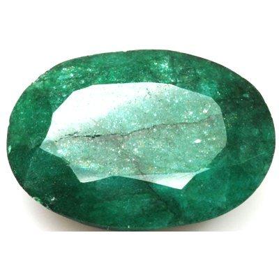 African Emerald Loose Gems 78.21ctw Oval Cut