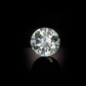 Diamond GIA Cert.ID:1136669708 Round 1.00 Ctw F, SI1