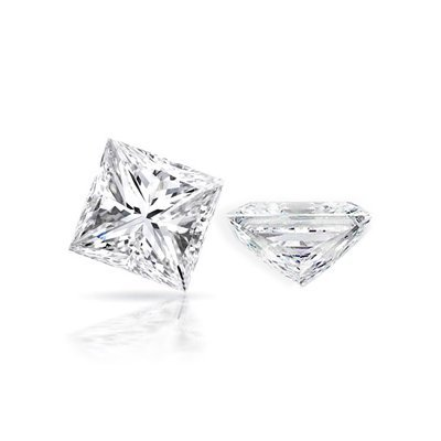 Diamond EGL Cert. ID: 3112142822 Princess 0.96ct D, SI1