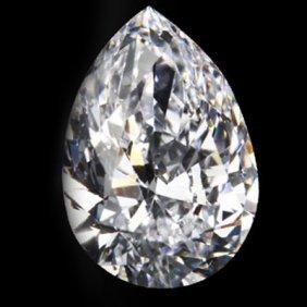 Diamond EGL Certified Pear 1.17 Ctw E, SI1