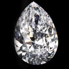Diamond EGL Certified Pear 1.17 ctw E, SI1