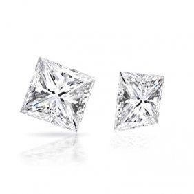 Diamond EGL Certified Princess 1.21 Ctw D,SI2