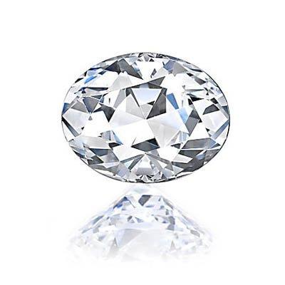Diamond EGL Certified Oval 0.70 ctw G,VVS2
