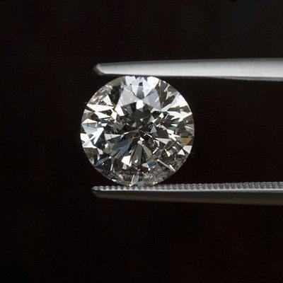 Diamond EGL Cert. ID: 3026934330 Round 2.20 ctw F, SI1