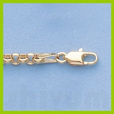 """Genuine 16"""" 14k  Gold-Yellow  3.3mm Rolo  Chain 5.5g"""