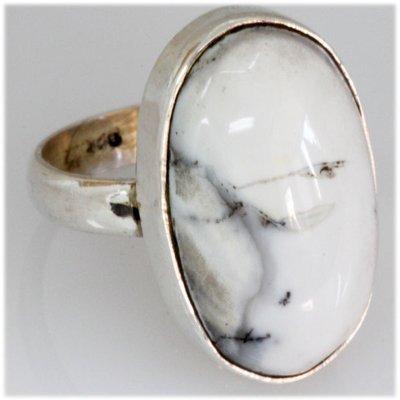 Natural 38.68 ctw Semi Precious .925 Sterling Ring