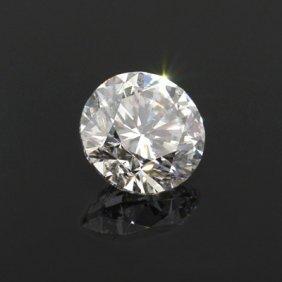 Diamond EGL Certified Round 0.92 Ctw E, SI2