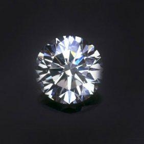 Diamond EGL Cert. ID: 3006301518 Round 0.90 Ctw D, SI2
