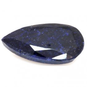 Natural 183.62 ctw African Sapphire Pear Shape Stone
