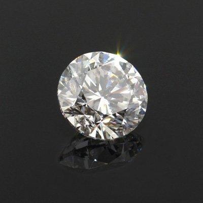 Diamond EGL Certified Round 1.06 ctw G, SI1