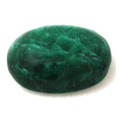 Natural 17.3ctw Genuine Emerald Cabushion Stone