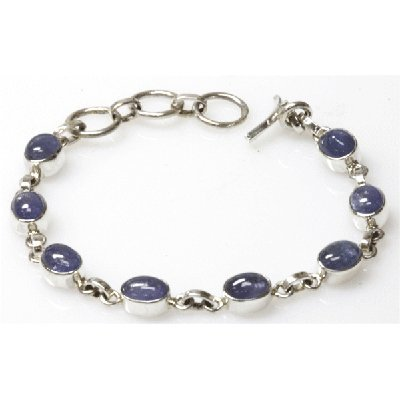 Natural 119.31 ctw Tanzanite .925 Sterling Necklace