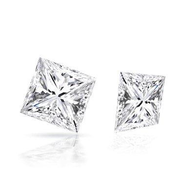 Diamond EGL Certified Princess 1.21 ctw D, SI2