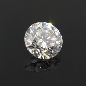 Diamond EGL Certified Round 1.00 Ctw D, SI1