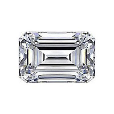 Diamond EGL Cert. ID:3127251930 Emerald 0.75 ctw D, Vs2