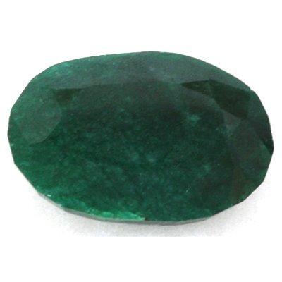 African Emerald Loose Gems 45.94ctw Oval Cut