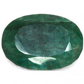 African Emerald Loose Gems 228.59ctw Oval Cut