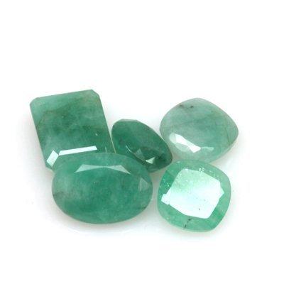 Natural 19.65ctw Emerald Mix (5) Stone
