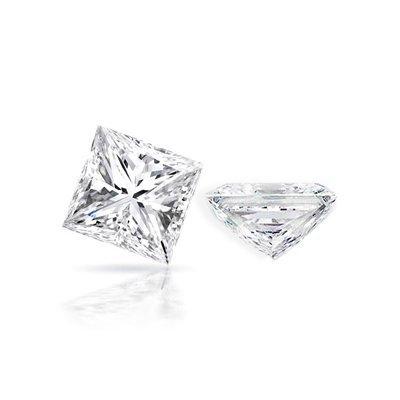 Diamond EGL Cert. ID: 3112142822 Princess 0.96ct D, SI1