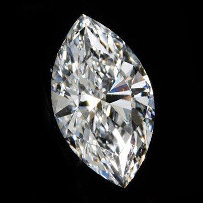 Diamond EGL Cert. ID: 3103314217 Marquise 0.91ct D, SI1