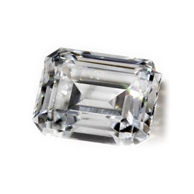 Diamond GIA Certified Emerald 0.70 ctw E,VVS2