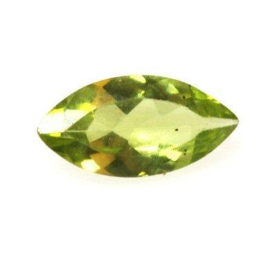 Natural 5.76ctw Peridot Marque 5x10 (6) Stone