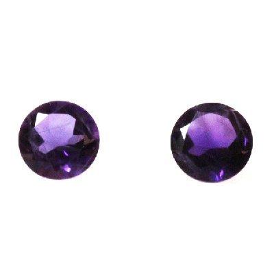 Natural 3.68ctw Amethyst Round Stone 8x8 (2)