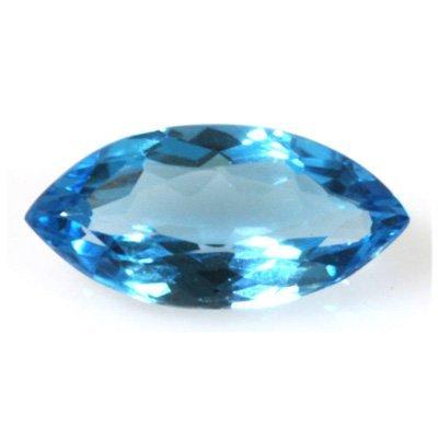 Natural 8.82ctw Blue Topaz Marque 10x20 Stone