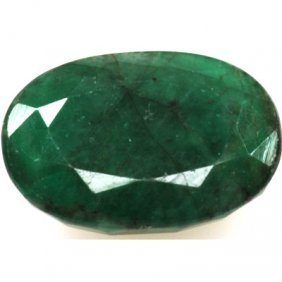 Natural 1.95ctw Emerald Oval Stone