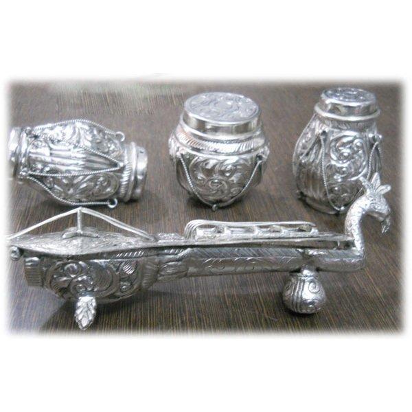 390 Grams Aluminium Tabla Set