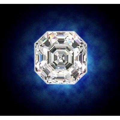 GIA Certified Asscher Cut diamond 1.00 ctw D VS1