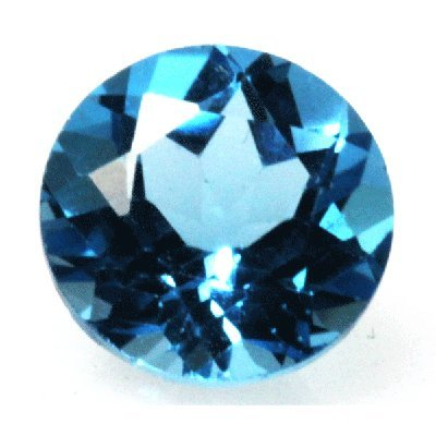 Natural 3.45ctw Blue Topaz Round 9x9 Stone