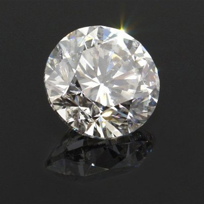 Diamond EGL Cert. Round 2.11 ctw H, SI1